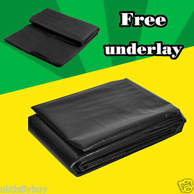 Flexible LDPE Heavy Duty Pond Liner Lining Garden Ponds 45yr Guarantee ALL SIZES