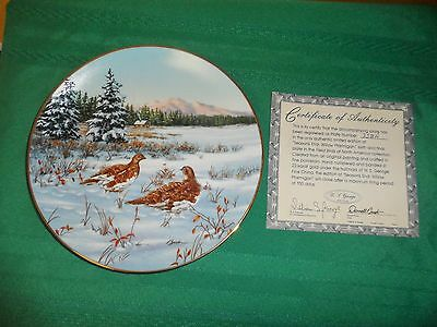 FIELD BIRDS OF NORTH AMERICA BY DARRELL BUSH & CERTIFICATE OF AUTHENTICITY