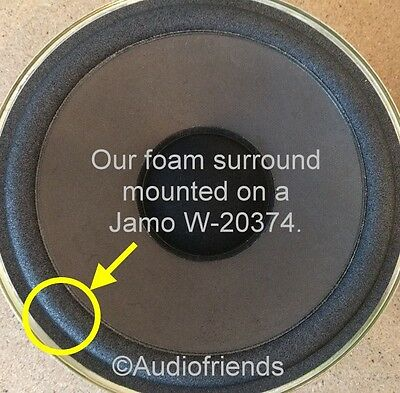 1x Foam Speaker Surround Jamo type SW1 + SW2, W20316