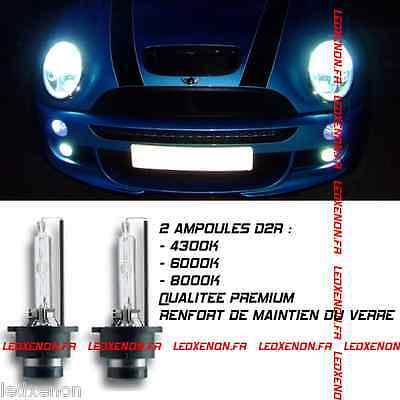 2 Ampoule Xenon D2R Bmw Mini Cooper Phase 1 R50 R53 2001-2006 S One D Works Jcw
