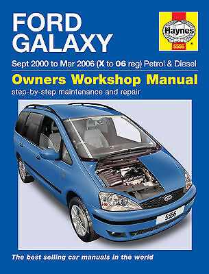 Haynes Ford Galaxy 2000-2006 2.3 Petrol & 1.9TD Diesel Manual 5556 NEW