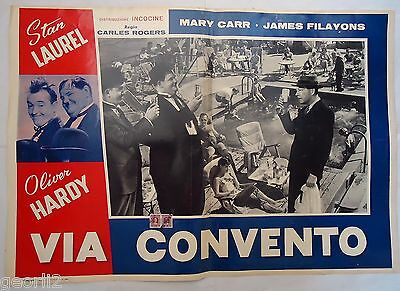 LAUREL  & HARDY/ONE GOOD TURN/J20/italy poster