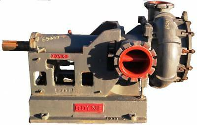 REMANUFACTURED GOYNE 8x10 SLURRY PUMP IN DUCTILE IRON, 2500GPM AT 123TDH #65257