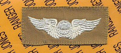 USAAF US Army Air Force WWII Navigator pilot Flight aviation wing patch B