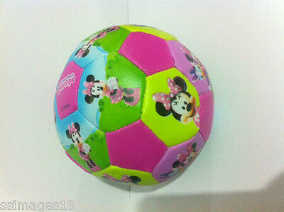 Minnie Mouse Clubhouse Soft Soccer Ball Disney Character Bow-tique Soft Ball 531