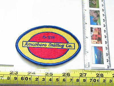 Amoshore Drilling Company Patch Badge  (5040)