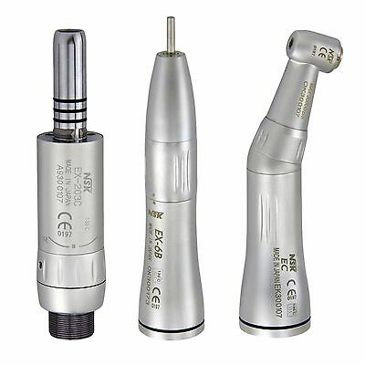NSK Style Inner Water Dental Low Speed Handpiece Contra Angle Air Motor Kit B2