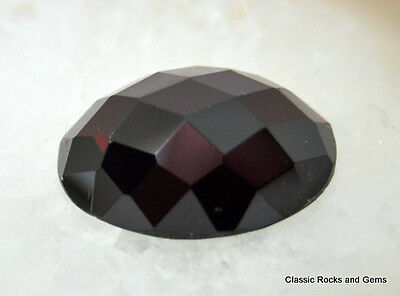 21,55ct Garnet Faceted Gemstone Granat Edelstein facettiert