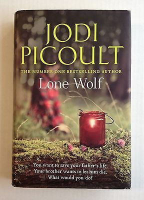 Lone Wolf by Jodi Picoult (Hardcover, 2012) UK edition 1st. Signed Autographed