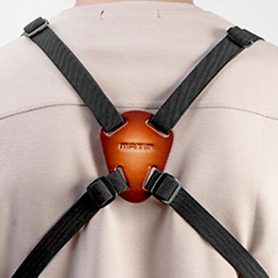 Leather BINOCULAR HARNESS Belt for Travel Outdoor Sports Army Hunting Militery