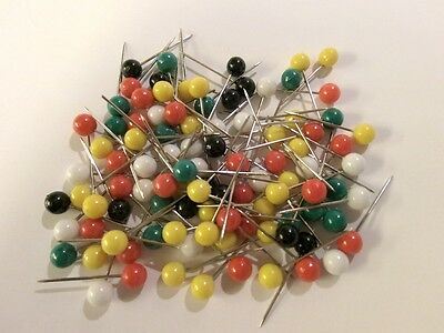 100 assorted Pinn - needles - for Pin board #000095