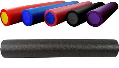 BodyRip BLACK GRID FOAM MASSAGE ROLLER 90cm FITNESS REHAB PILATES YOGA EXERCISE