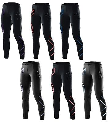 New 2XU Colour Compression Tights Women Lady PWX Running Pants Fitness Tight