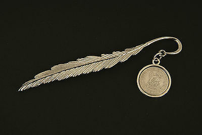 Lucky Sixpence Pendant Bookmark  - 1910 - 1919 in gift box