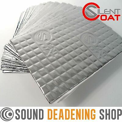 Silent Coat Sound Deadening 2mm Compact 30 Sheets Pack Car Van Damping Mat