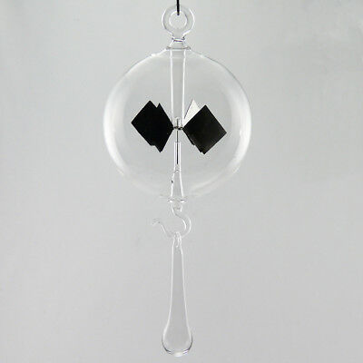Radiometer Solar Radiometer to hang Clear 80 mm Radiometer with stand