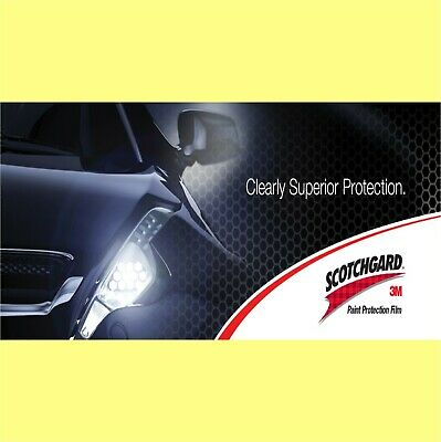 3M Clear Paint Protection Film  - 100mm x 1.000m long
