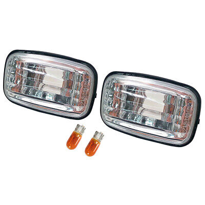 Clear Side Marker Indicator Light Lamp For Toyota Hilux Land Cruiser 80 100 105