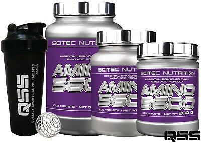 Scitec Nutrition Amino 5600 Essential Branched Chain Amino Acids 200/500/1000 +S