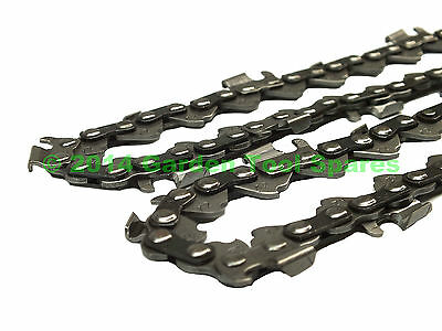 "NEW 16"" CHAIN FITS CHINESE CHAINSAW 37.2cc 38cc 3800 3/8 1.3mm 0.050"" 57DL"