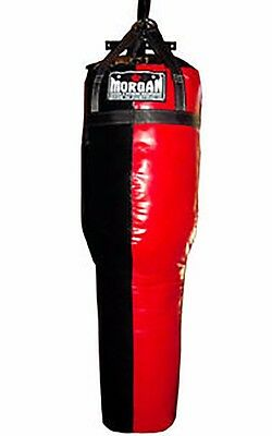 5Ft Filled Angle Uppercut Punching Bag Mma Kick Boxing Exercise Sparring Punch