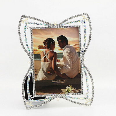 Metal Picture Photo Frame Butterfly  Photograph Stand Art Home Decor Album Gifts