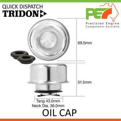 New Genuine * TRIDON * Oil Cap For Ford Falcon - 6 Cyl V8 XA - XC XD XE - XF