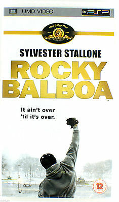 Rocky Balboa Sylvester Stallone UMD Movie Sony PSP. NEW