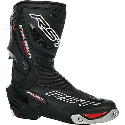 RST Tractech Evo CE Waterproof Sports Motorcycle Boots - Black