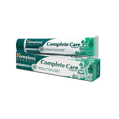 3 x 75g Himalaya Herbal Toothpaste / Complete Care Gum Toothache Denture Product