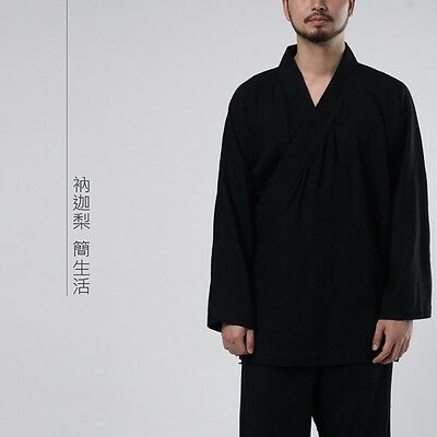 Chinese Traditional Style Mens Womens Suit Kung Fu Tai Chi Zen Clothes Spring