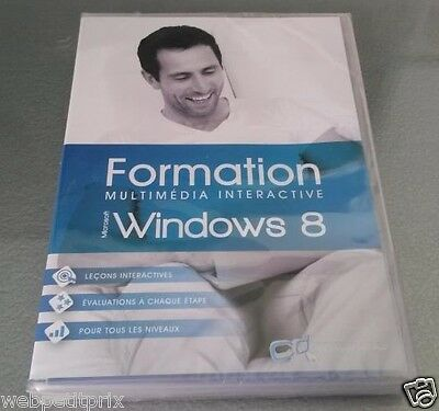 Formation Multimédia Interactive 2 Heure - Microsoftwindows 8-Pc -Dvd *vf *neuf