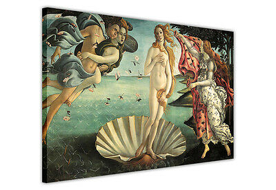 Canvas Prints Wall Art The Birth Of Venus By Sandro Botticelli Pictures Photos