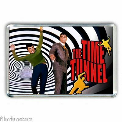 60's RETRO TV NOSTALGIA ' THE TIME TUNNEL'  JUMBO Fridge Magnet
