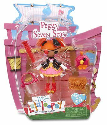 Lalaloopsy Mini Peggy Seven Seas Doll - Brand New