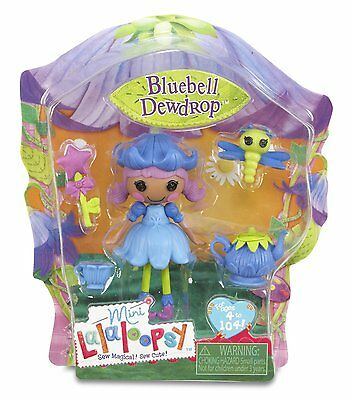 Mini Lalaloopsy Doll - Bluebell Dewdrop - Brand New