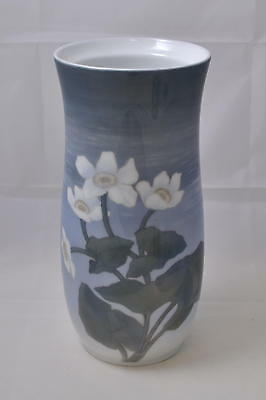 Royal Copenhagen - Grosse Vase mit Christrosen - Antik