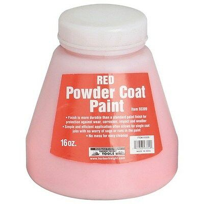 Red 16 Oz. Powder Coat Paint! Create a nearly indestructible finish!