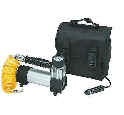 12 Volt 100 PSI High Volume Air Compressor for airing tires sports equipment etc