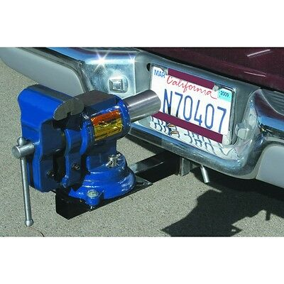"""Heavy Duty All Steel Hitch Mount Vise Plate Fits any standard 2"""" hitch receiver!"""
