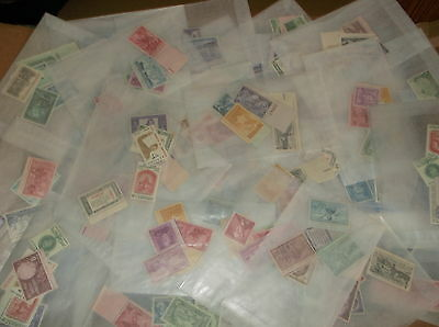 50 to 70 YEAR OLD US Mint Vintage Postage Stamp Collection in Glassine Envelopes