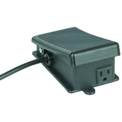 ON or OFF Power Maintained Foot Switch for hands free operation of power tools!