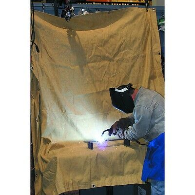 4 ft x 6 ft Fiberglass Welding Blanket Protect work area from sparks & splatter