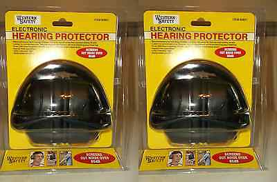 Lot of 2 85 dB Noise Canceling Electronic Ear Muffs Hearing Noiose Protection