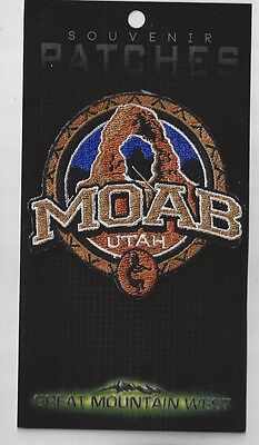 WONDERFUL MOAB NATIONAL PARK UTAH SOUVENIR PATCH