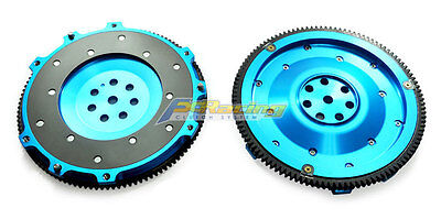 Fx 6061 Aluminum Clutch Flywheel 01-07 Mitsubishi Lancer Evolution Evo 7 8 9