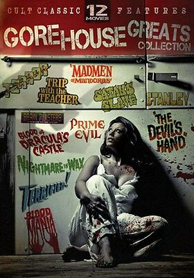 The Gorehouse Greats Collection (DVD, 2009, 3-Disc Set - 12 Movies)