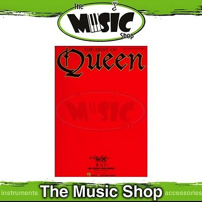New The Best of Queen PVG Music Book - Piano Vocal Guitar