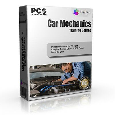 Auto Mechanic Mechanics Car Gears Training Book Course