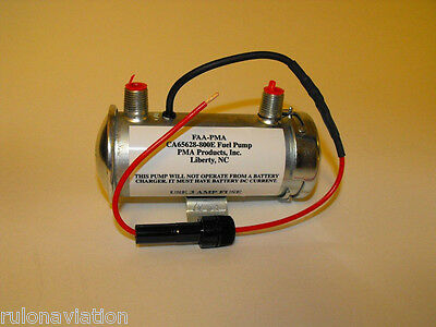 Pma Fuel Transfer Pump - Ca65628-800E - Facet Style Aviation Pump For Piper
